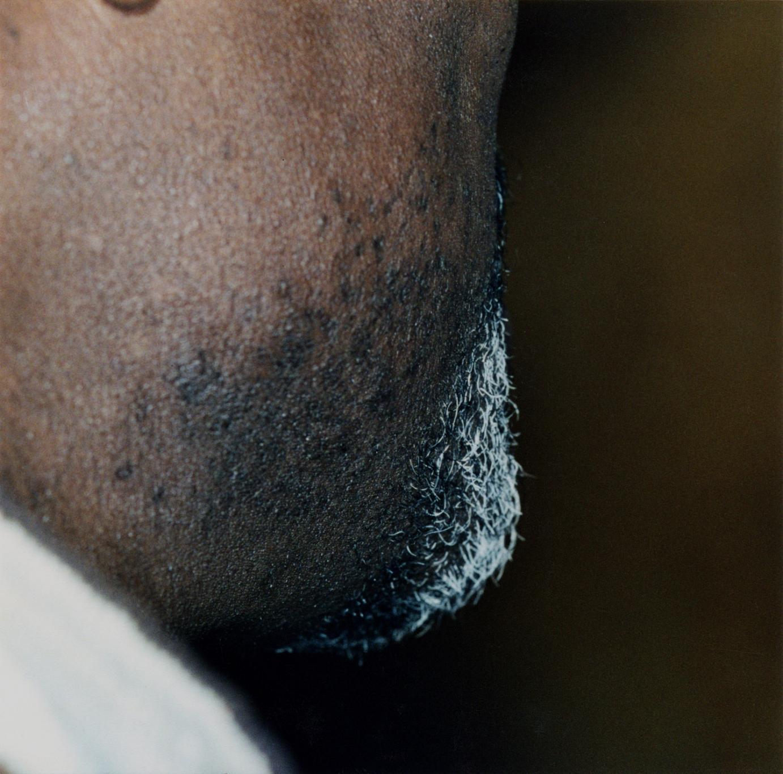 sans titre 1999-2003, barbiche noire